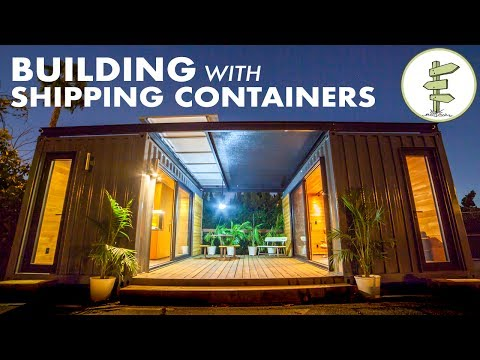 Building Amazing Homes & Mobile Spaces Using Shipping Containers!