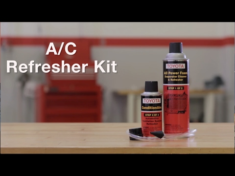 Genuine Toyota A/C Refresher Kit