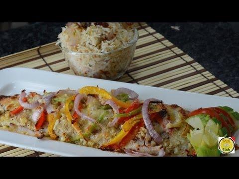 Garlic Butter Baked Fish  - By Vahchef @ vahrehvah.com
