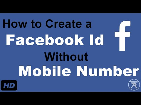How to Create a Facebook I'd Without Mobile Number | Tahir Habib | Tipricks
