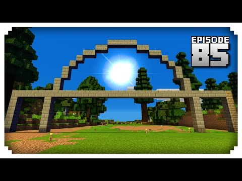Let's Play Minecraft PE - Ep.85 : Train Station