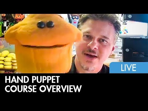 Live Hand Puppet Webcourse Overview - Detail and Finishing Techniques