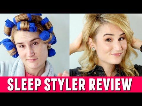 SLEEP STYLER HONEST REVIEW | Worth The Hype? | HeyKackie