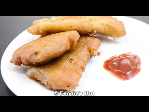 How to make Kolkata style Fish Batter Fry- Recipe by Foodie's Hut #0104
