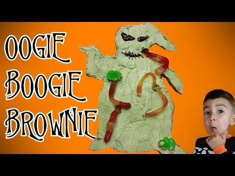 Oogie Boogie Brownie from Disney's Nightmare Before Christmas Cake