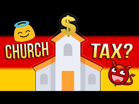 Germany's Church Tax ⛪💲💲💲 Do ALL Germans PAY For Their Sins?