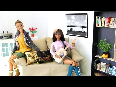 How to Make a Doll Sofa 3 - Doll Crafts
