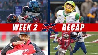 XFL Week 2 Recaps