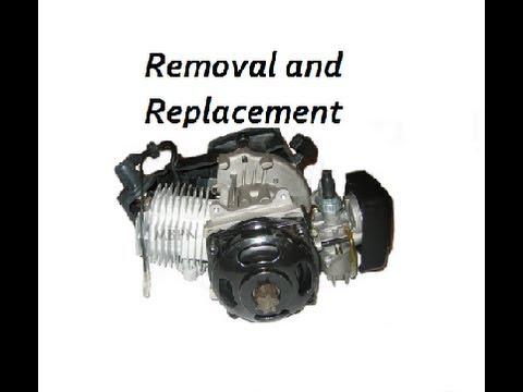 How To remove and Replace a Pocket Bike/ATV Carburetor Carb Help