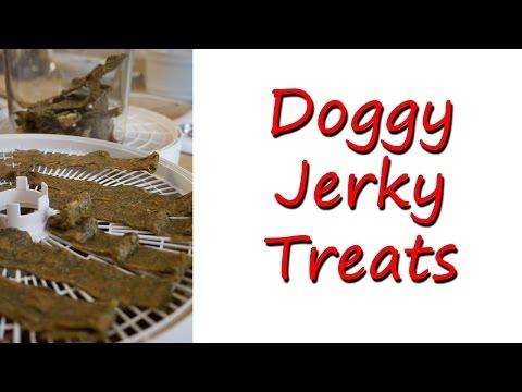 Homemade Doggy Jerky Treats Recipe