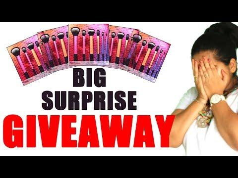 BIG GIVEAWAY!! (CLOSED) Real Technique Makeup Brushes Set   Happy Pink Studio