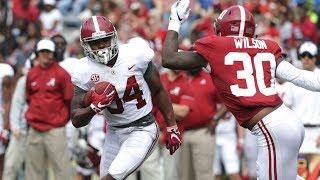 Alabama Football Spring Game Highlights 2018 HD
