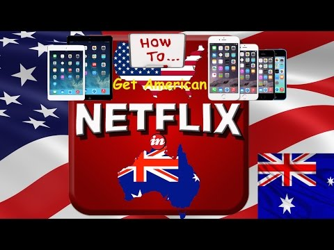 [free] How To Get US Netflix in Australia on ipad, ipod & iphone