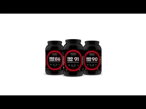 100% Whey Protein Isolate - ISO Core Series | Sinew Nutrition