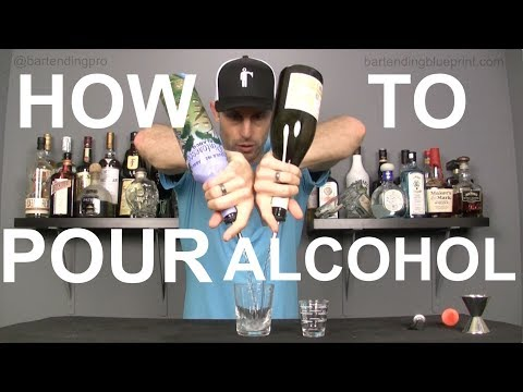 HOW TO POUR LIKE A PRO - Bartending 101