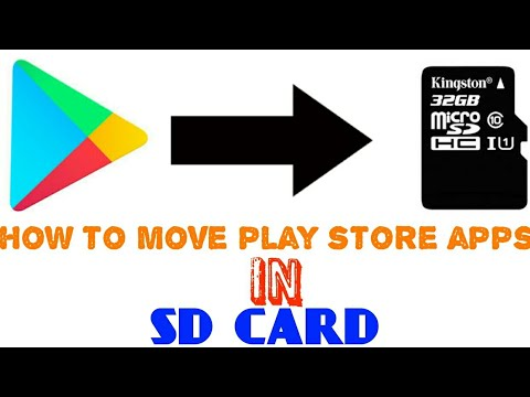 how to move play store apps in sd card new video 2018