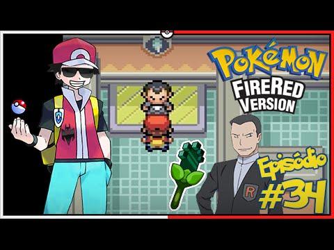 Pokémon Fire Red Let's Play #34: Nossa Última Insígnia! Desafio do Giovanni e um