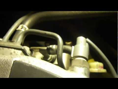 PCV valve replacement honda accord 2000 ex V6 (informative)