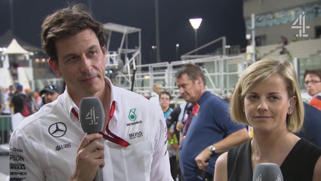 """2016 Abu Dhabi - Post-Race:  """"We'll have to wait for the dust to settle"""" - Wolff"""