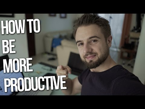 How To Be More Productive (Simple Method That Really Works)