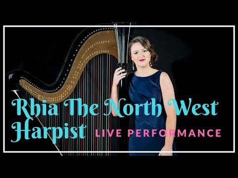 Rhia The North West Harpist // Book at Warble Entertainment