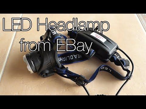 eBay LED Headlamp