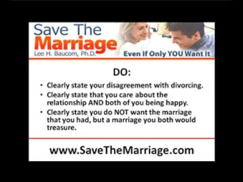 Help! My Spouse Wants A Divorce!