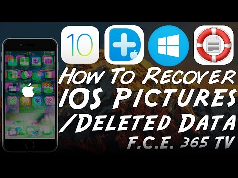 iOS 10.1.1 - How to Recover Deleted Photos / Data from iPhone | Dr. Fone Review