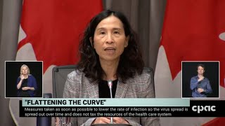 Federal ministers and health officials provide COVID-19 update - March 23, 2020