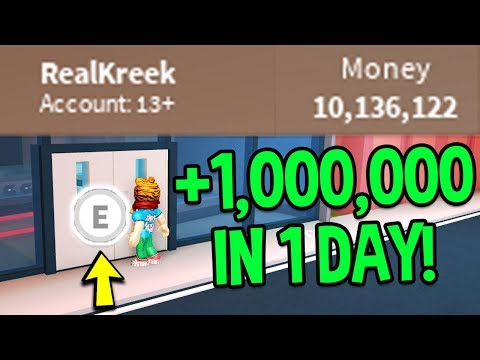 Roblox Jailbreak HOW TO MAKE MONEY FAST! | LIVE VIP SERVER FARMING (How To Get 1 Million Dollars)