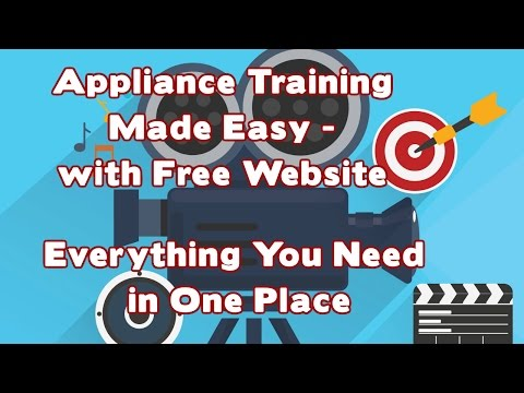 Appliance Repair Training Videos - Start a Business with Free Website