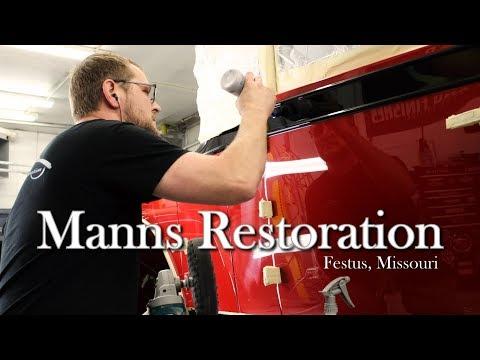 Award Winning Automotive Restoration - Manns Restoration