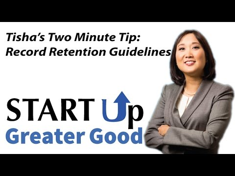 Record Retention Guidelines