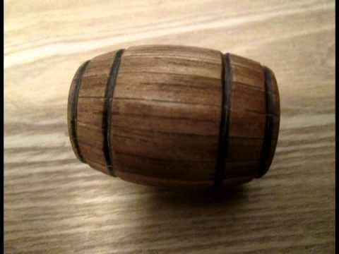 How I Make... Model Wooden Barrel