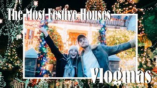 The Most Festive Houses You've Ever Seen | VLOGMAS