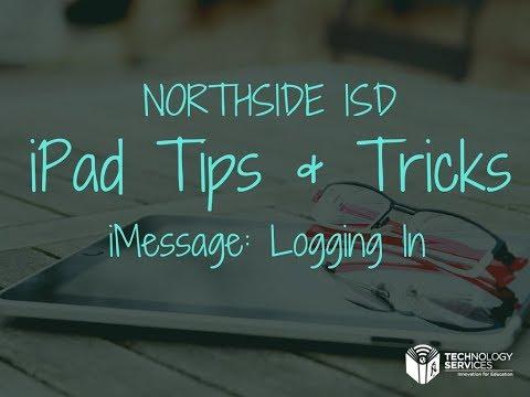 iMessage: Sending a Message