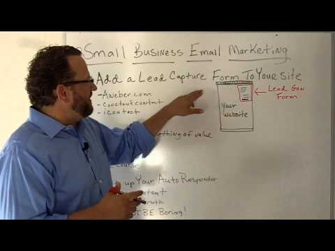 Small Business Email Marketing-The Beginners Guide To Small Business Internet Marketing-Episode 4
