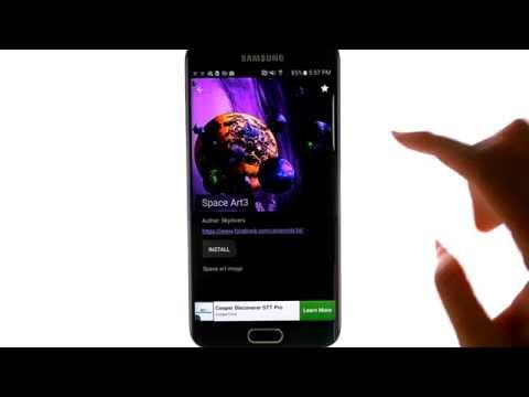 Asteroids 3D Live Wallpaper - App Review - Best Apps