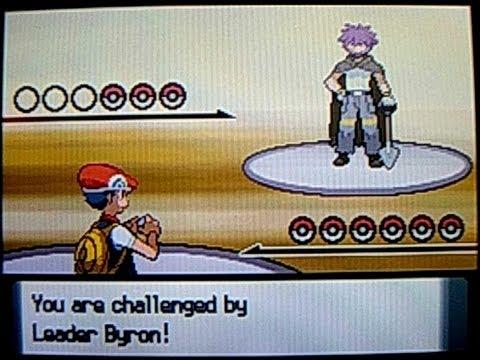 Pokémon Diamond, Gym #6: Byron & the Mine Badge