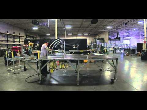 Lawrence Fabric & Metal Structures - Welding Aluminum Awning Frame