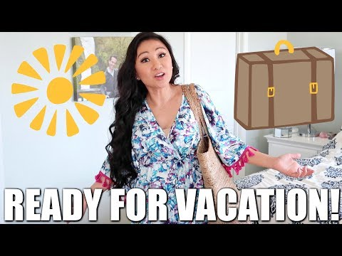 READY FOR VACATION! ☀️