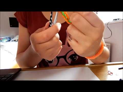 How to make a double fishtail bracelet- without loom