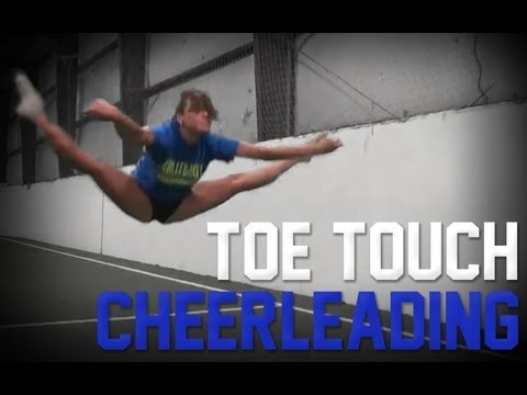 Toe Touch   Cheer Stunts