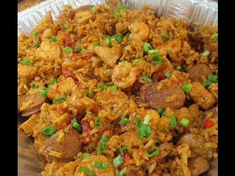ASMR | Shrimp Chicken and Sausage Jambalaya