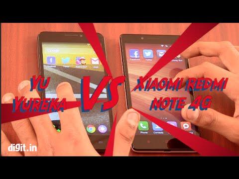 Yu Yureka vs Xiaomi Redmi Note 4G