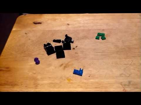 How to build a Lego Enderman and zombie villager