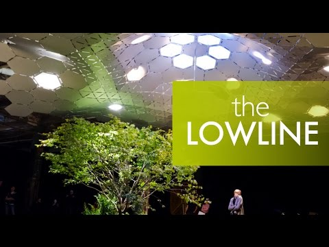 The Low Line - the world's first underground park