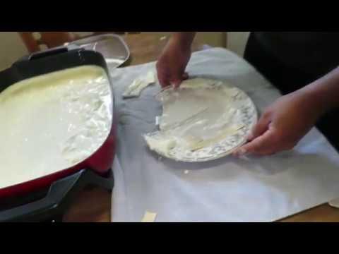 Fix a broken plate with milk?