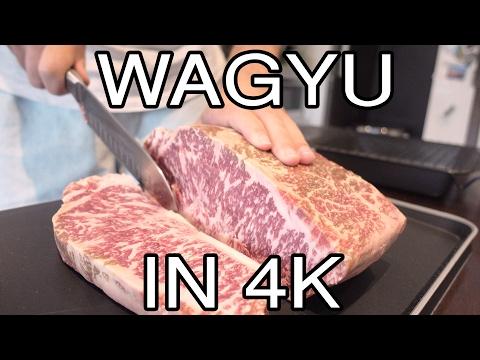 Cooking 9+ Marble Score Wagyu Sirloin Steak in 4K (#12)
