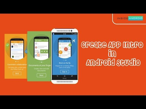 Create App Intro in Android App   Android Studio